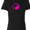 Life Is Effortless Breast Ladies Cancer T-shirt