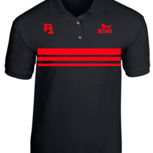 P1 I Am...King Black Polo Shirt