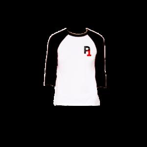 Black Baseball Tee - Unisex