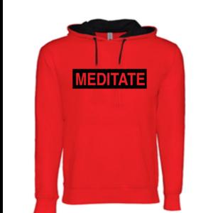 Meditate - Light Weight Hoodie