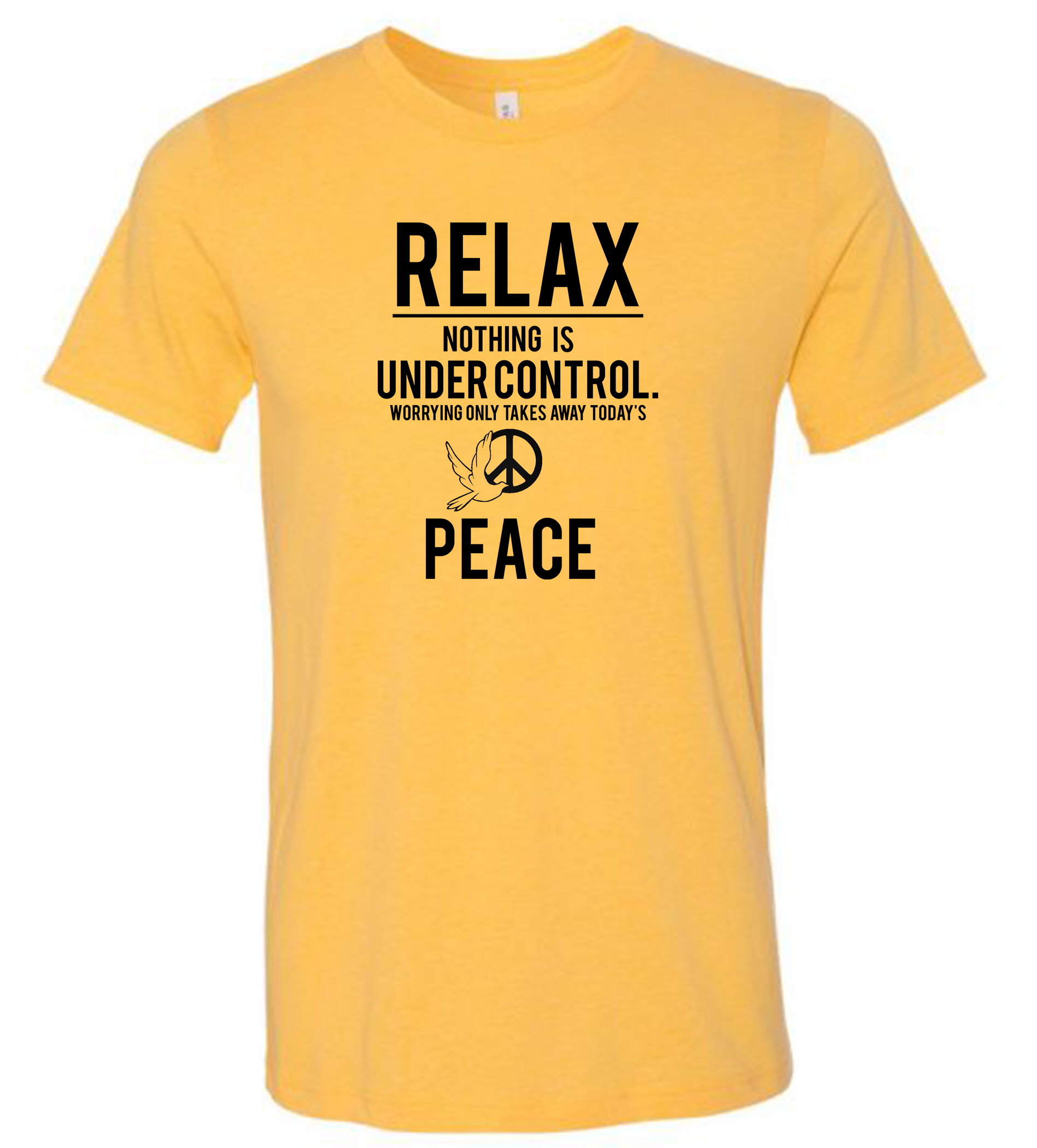 RELAX - NOTHING IS UNDER CONTROL
