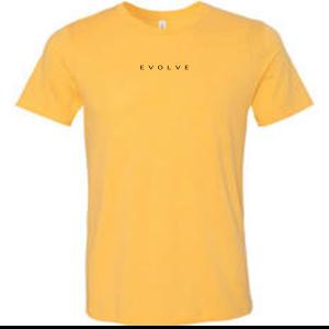 Evolve Heather Yellow Gold T-Shirt